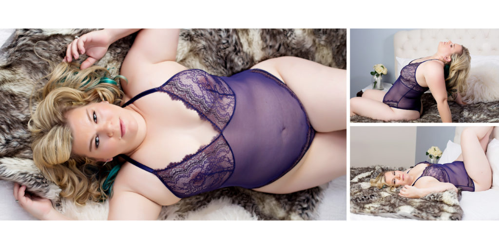Plus size Chicago boudoir photography